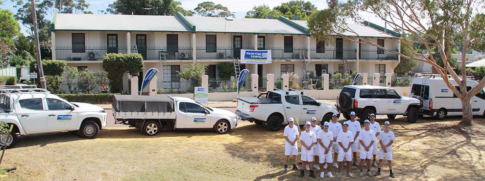strata property painting company perth